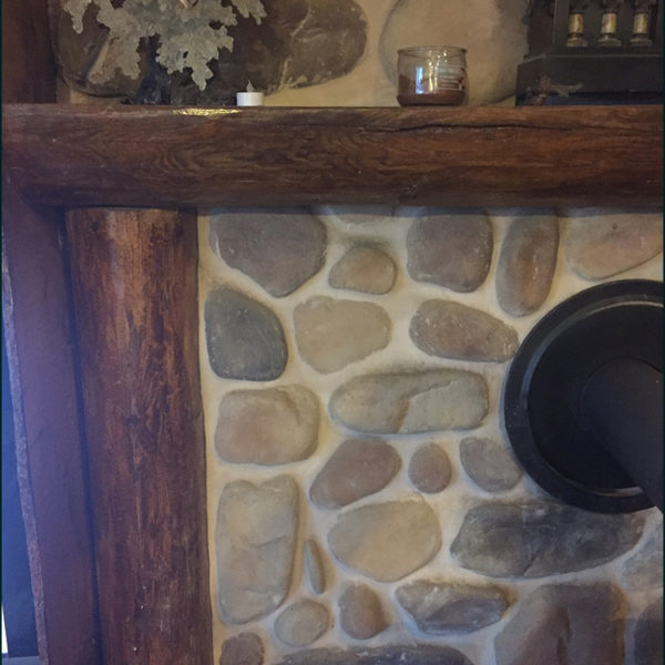Fireplace Mantle Redesign