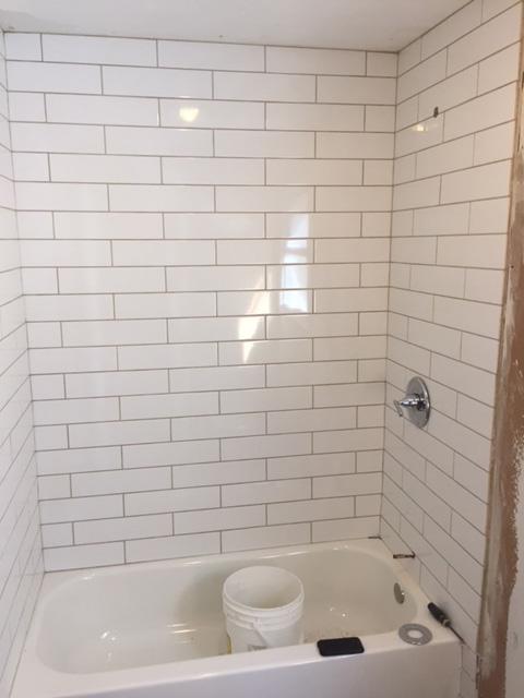 Bathtub Tiling Done